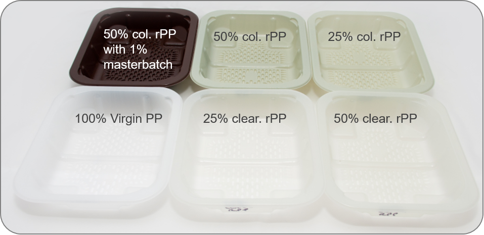 Food grade PP trays